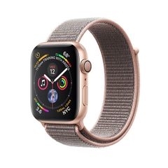 Apple Watch Series 4 GPS Gold Aluminum Case with Pink Sand Sport Loop