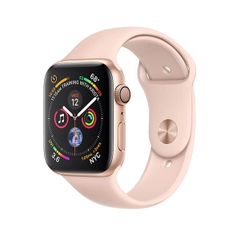 Apple Watch Series 4 GPS Gold Aluminum Case with Pink Sand Sport Band