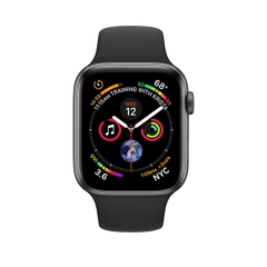 Apple Watch Series 4 GPS Space Gray Aluminum Case with Black Sport Band