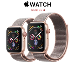 Apple Watch Series 4 (GPS + CELLULAR) Gold Aluminum Case with Pink Sand Sport Loop