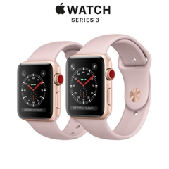 Apple Watch Series 3 (GPS + CELULAR) Gold Aluminum - Pink Sand Sport Band