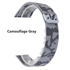 Dây Thép Apple Watch Milanese Loop Camouflage