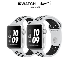 Apple Watch Nike+ Series 3 GPS Silver Aluminum - Pure Platinum/Black Nike Sport Band