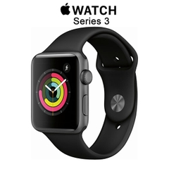 Apple Watch Series 3 GPS Space Gray Aluminum - Black Sport Band