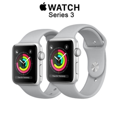 Apple Watch Series 3 GPS Silver Aluminum - Fog Sport Band