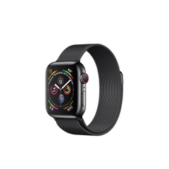 Apple Watch Series 4 (GPS + CELLULAR) Space Black Stainless Steel Case with Space Black Milanese Loop