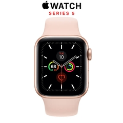 Apple Watch Series 5 (GPS) 40mm Gold Aluminum - Pink Sand Sport Band