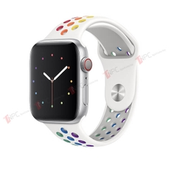Dây Apple Watch Silicone Sport Band RainBow Series 5/4/3/2/1