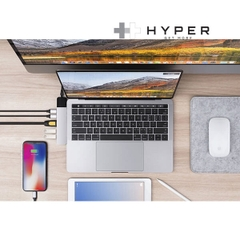 HyperDrive NET 6-in-2 Hub for USB-C MacBook Pro