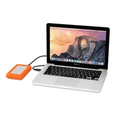 LaCie 500GB Rugged Thunderbolt USB 3.0 SSD Drive
