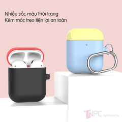 Ốp Silicone Dẻo Colorful Candy dành cho Apple AirPods 1 | 2