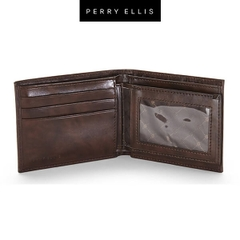 Ví Da Nam Perry Ellis Portfolio Jameston Passcase