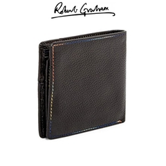 Ví Da Nam Robert Graham Pebbled Birch Bifold