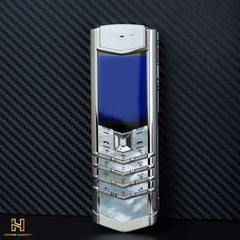 VERTU SIGNATURE S PURE WHITE MOTHER OF PEARL