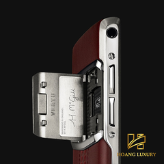Vertu New Signature Touch Garnet Calf mới 100%