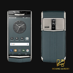 Vertu New Signature Touch Teal Fluted mới 100%