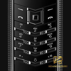 Vertu Signature S Clous De Paris Pure Black mới 100%