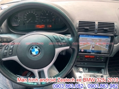 DVD ANDROID ZESTECH CHO XE BMW 325i 2010