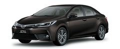 Toyota Corolla Altis màu nâu cafe