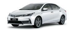 Toyota Corolla Altis màu trắng xứ