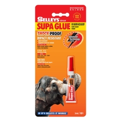 Keo Dán Đa Năng Selleys Supa Glue Shock Proof (3ml)
