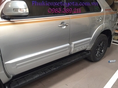 Bộ quây quanh xe Fortuner