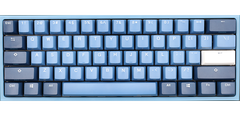Bàn phím cơ Ducky Mini Good in Blue - Brown switch