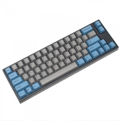 Bàn phím cơ Leopold FC660M PD Blue Grey - Red switch