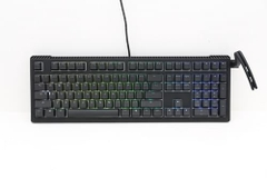 Ducky Shine 6 PBT Doubleshot Black Red Switch