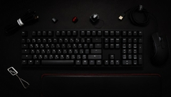 Bàn phím cơ Ducky One 2 Phantom Black - Red switch