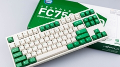 Bàn Phím Cơ Leopold - FC750RPD White Green - Brown Switch