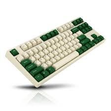 Bàn Phím Cơ Leopold - FC750RPD White Green - Red Switch