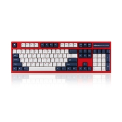 Bàn phím cơ Leopold FC900RPD Blue Star - Silent-Red Switch