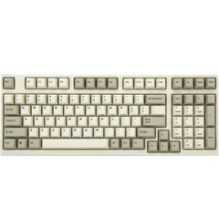 Bàn phím cơ Leopold FC980M PD White Grey - Brown switch