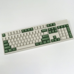 Bàn Phím Cơ Leopold - FC900RPD White Green - Brown Switch