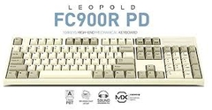Bàn Phím Cơ Leopold - FC900RPD White Grey - Red Switch