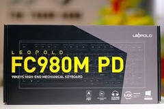 Bàn phím cơ Leopold FC980M PD Ash Yellow - Red switch