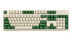 Bàn Phím Cơ Leopold - FC900RPD White Green - Red Switch