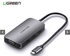 CÁP USB-C TO VGA + USB 3.0 (50210) UGREEN