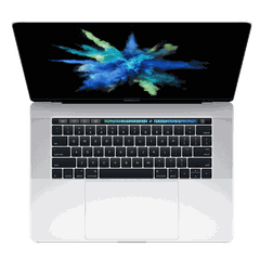 MPTV2 - MacBook Pro 2017 15 inch SSD 512GB TouchBar ( Silver ) New 99%