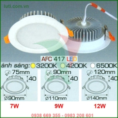 Đèn downlight Anfaco AFC 417