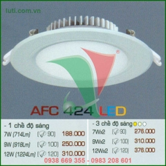 Đèn downlight Anfaco AFC 424