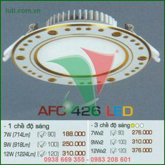 Đèn downlight Anfaco AFC 426