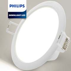 Đèn Downlight LED Philips Tròn DN027B G2 LED6 D100 RD
