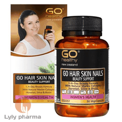 GO HAIR SKIN NAILS BEAUTY SUPPORT  – ĐẸP DA MÓNG TÓC