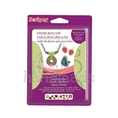 Khuôn trang sức Sculpey bakeable Silicone Mold Cabochon
