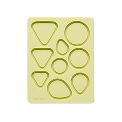 Khuôn trang sức Sculpey bakeable Silicone Mold Bezel Shapes
