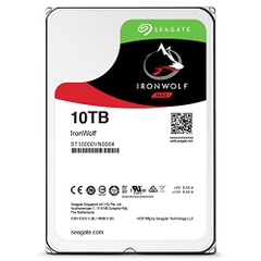 SEAGATE IronWolf ST10000VN0008 Dung lượng 10000GB (10TB) 3.5