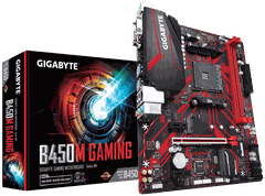 Main Gigabyte B450M GAMING (Chipset AMD B450/ Socket AM4/ VGA onboard)