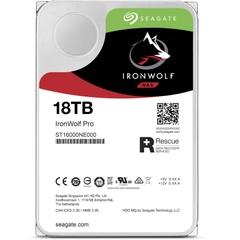 SEAGATE IronWolf Pro ST18000NE000 Dung lượng 18000GB (18TB) 3.5